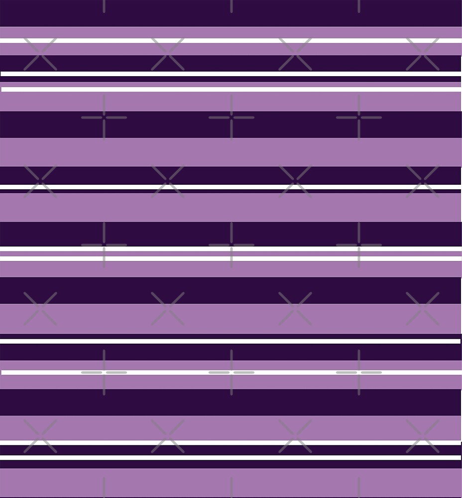 Purple Stripes by Manitarka