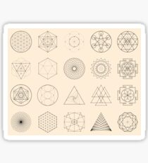 Esoteric Spiritual Geometry Sticker
