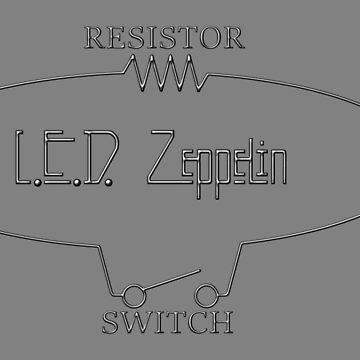 L.E.D. Zeppelin by darqenator