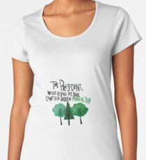 West Wing Arboreal Stop Women's Premium T-Shirt