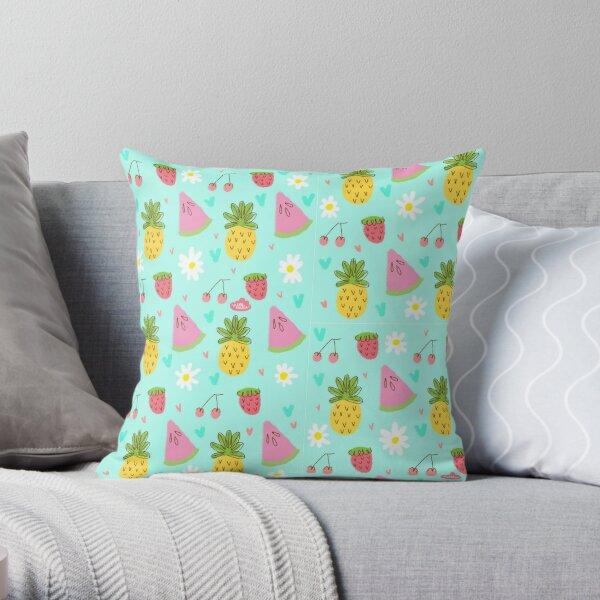 Lau Ilustra- Summer Throw Pillow