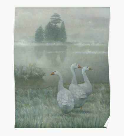 The Three Geese Poster
