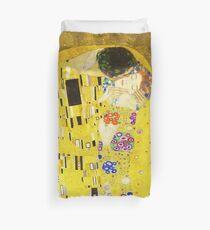 HD The Kiss, by Gustav Klimt 1907-1908 HIGH DEFINITION Duvet Cover