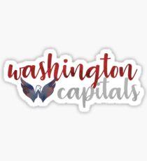 Washington Capitals watercolor  Sticker