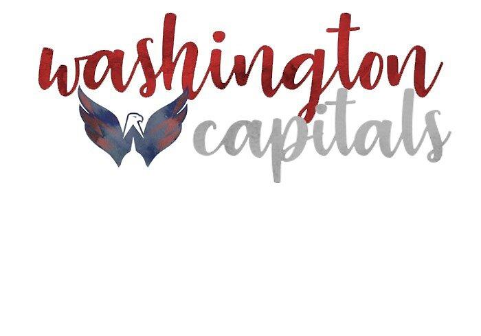 Washington Capitals watercolor  by Jazmyn210