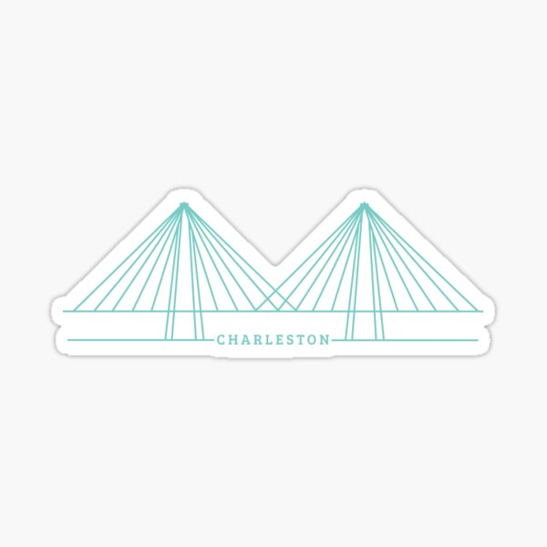 Ravenel Bridge Sticker