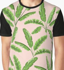 Tropical leaves seamless pattern Graphic T-Shirt