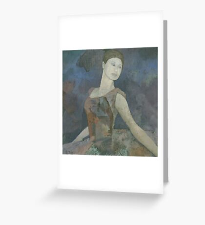 The Ballerina Greeting Card