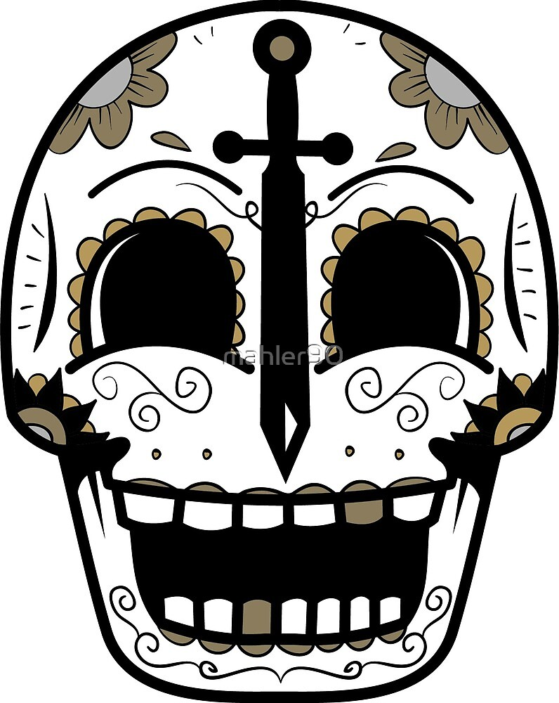 UCF Sugar Skull by mahler90