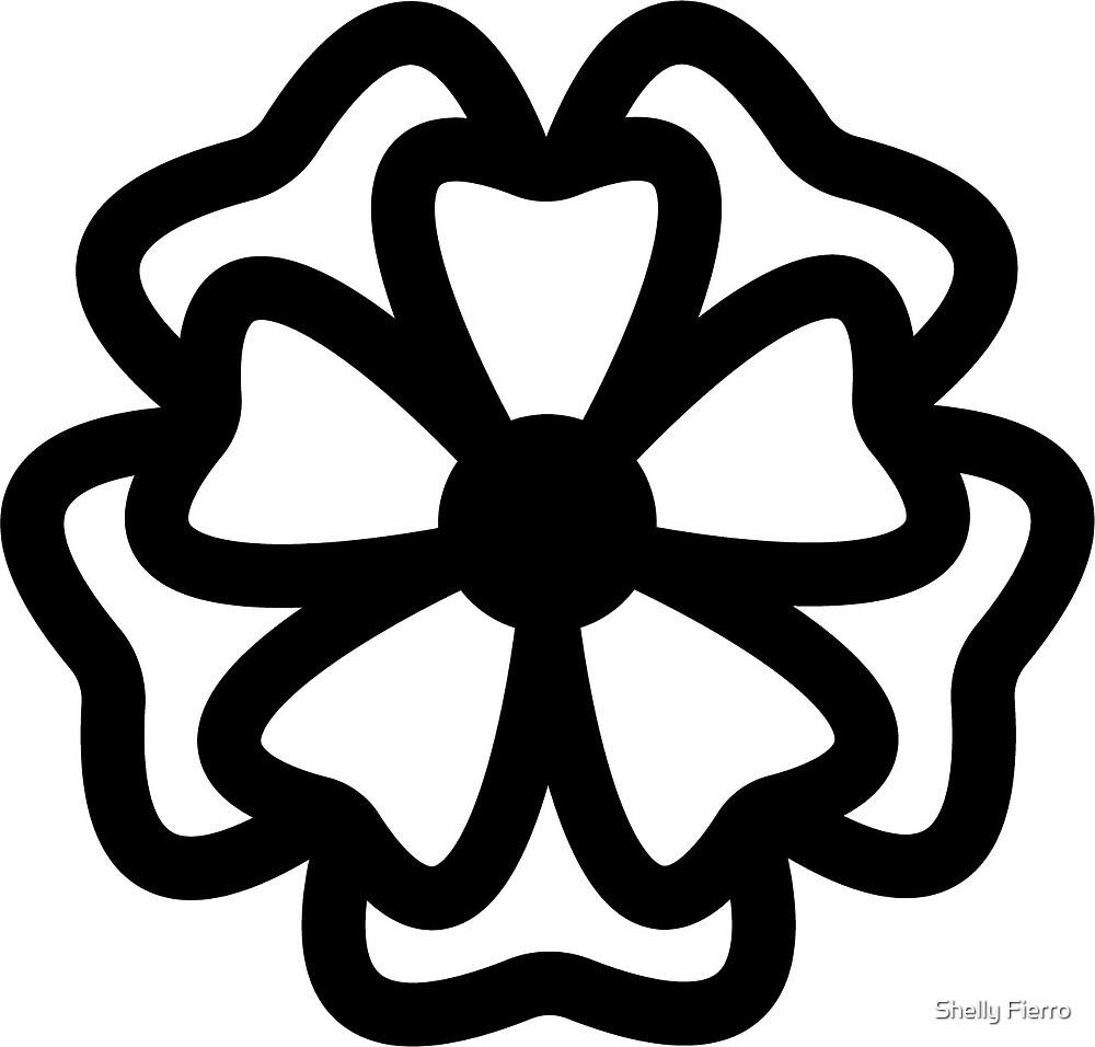 Flower Clover Pattern by Shelly Bukoskey