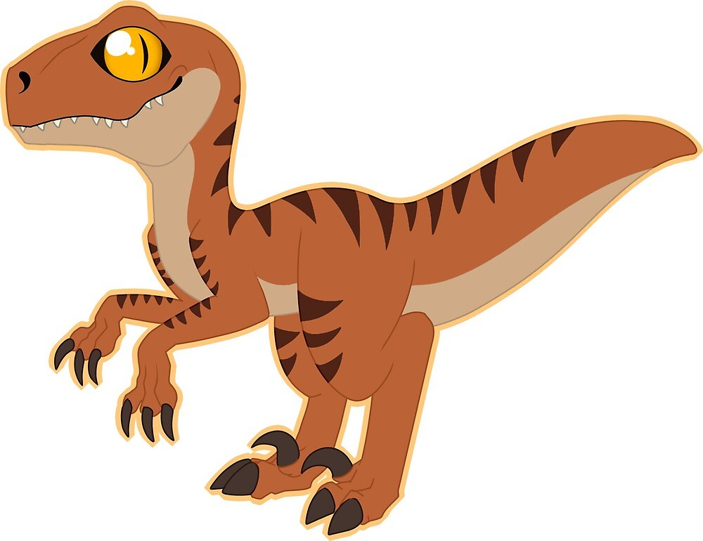 Raptor Sticker by peripaws