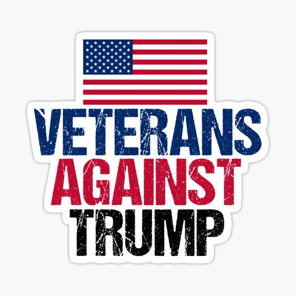Veterans Against Trump Sticker
