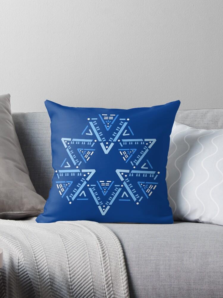 Code Mandala - Vuetify blue background by charline-m