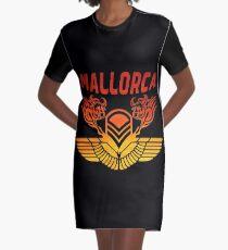 Majorca bulls Graphic T-Shirt Dress