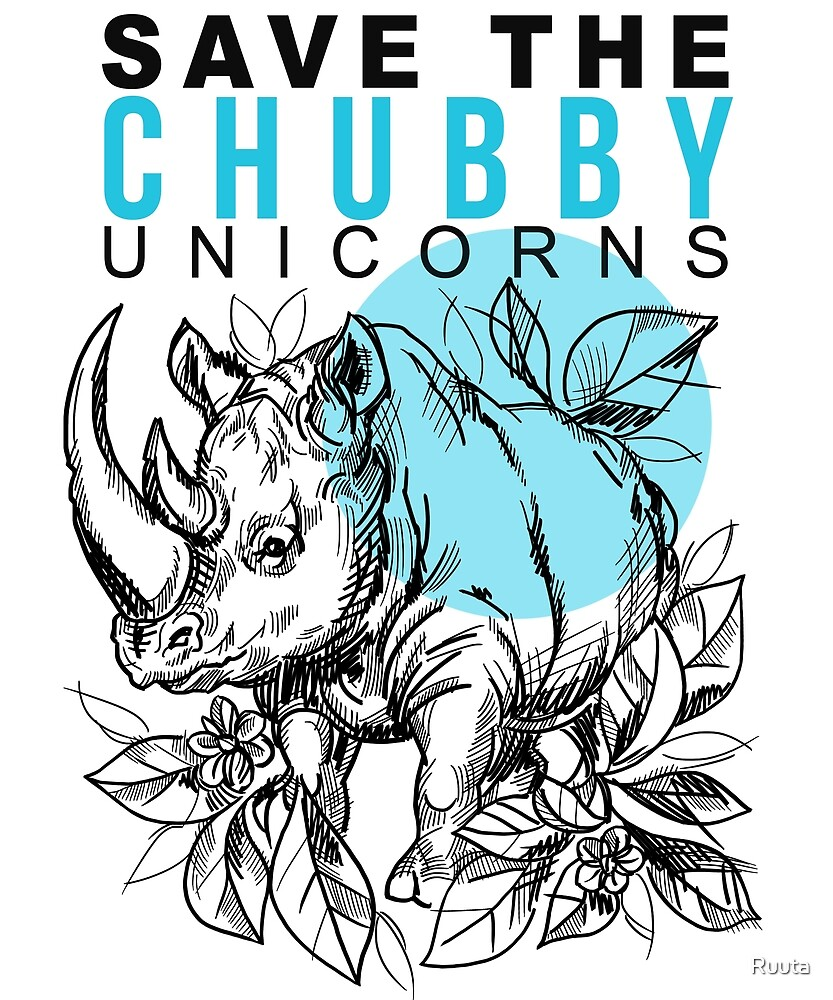 Chubby Unicorn by Ruuta