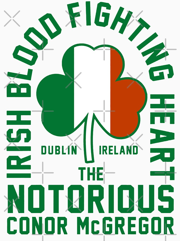 Conor McGregor - Irish Blood Fighting Heart by MillSociety
