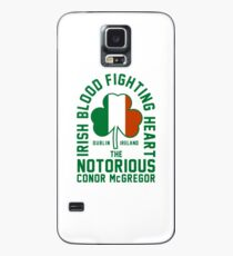 Conor McGregor - Irish Blood Fighting Heart Case/Skin for Samsung Galaxy