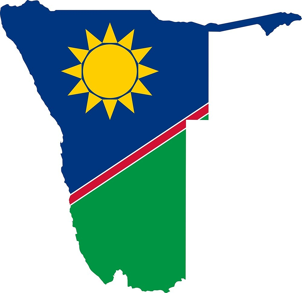 Namibia Continent Flag by PRODUCTPICS