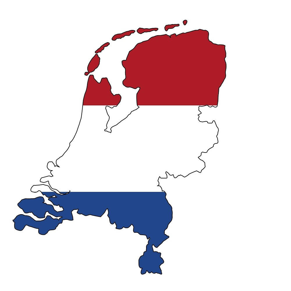 Netherlands Continent Flag by PRODUCTPICS