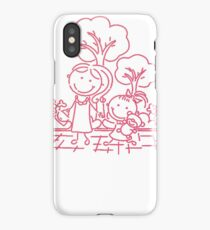 Cartoon Pink iPhone Case/Skin