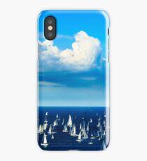 The Barcolana regatta in the gulf of Trieste iPhone Case/Skin