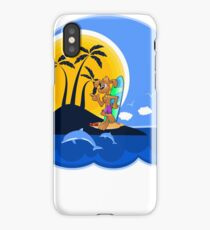 Summer Time Pup iPhone Case/Skin