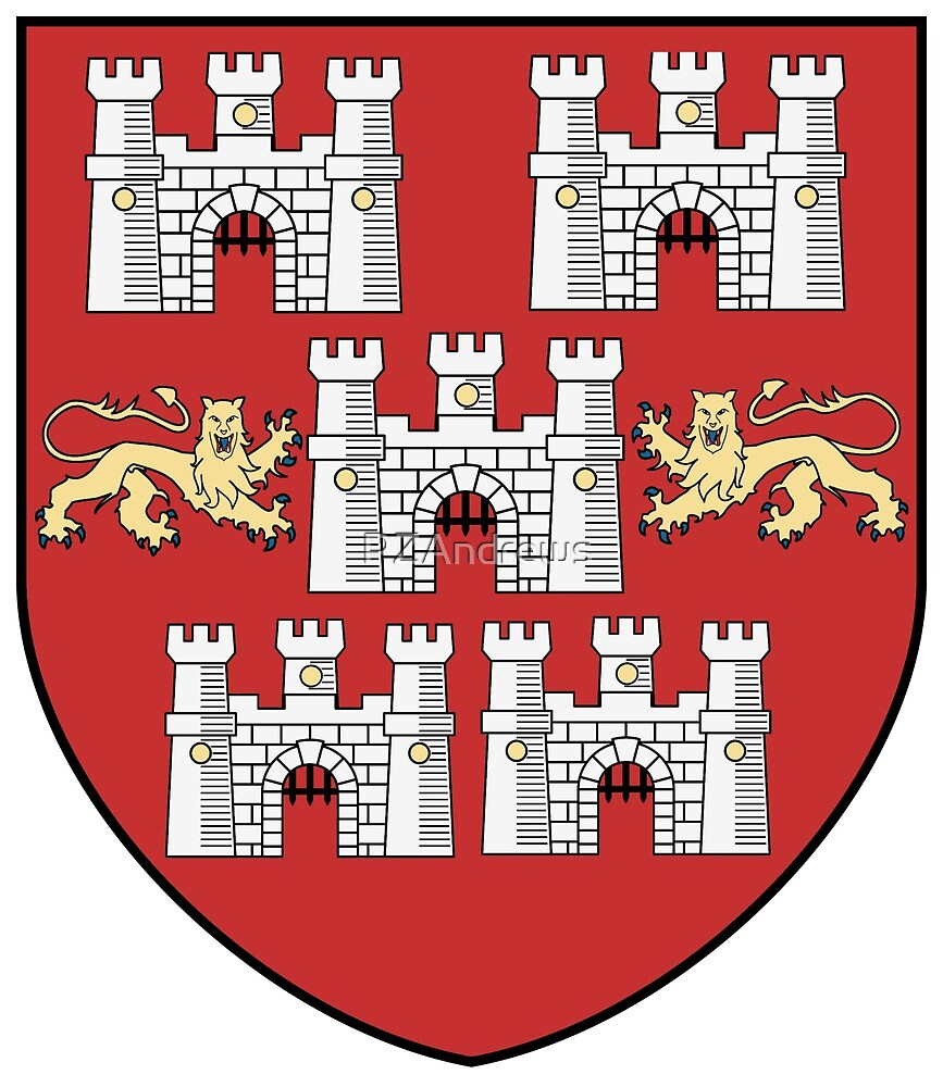 Winchester City Coat of Arms, England by PZAndrews