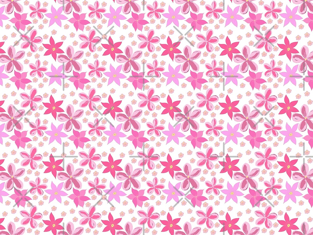 A Profusion Of Pink by Carmen Ray Anderson