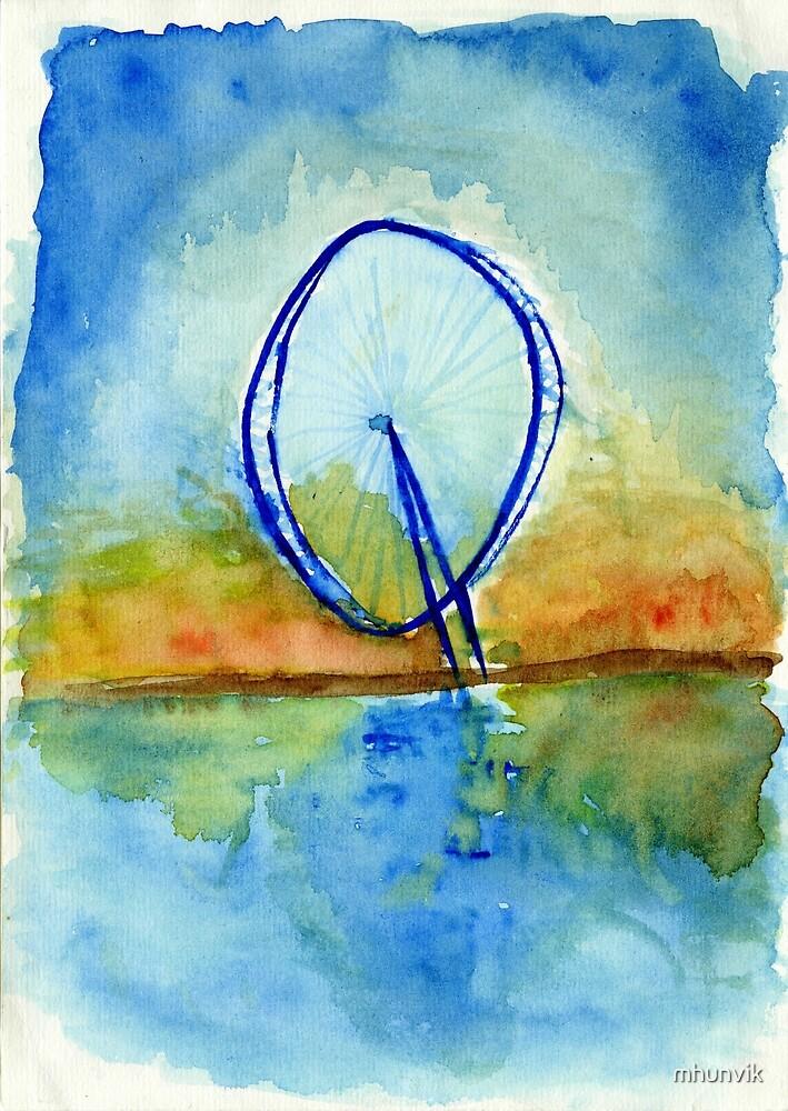 Ferriswheel by mhunvik