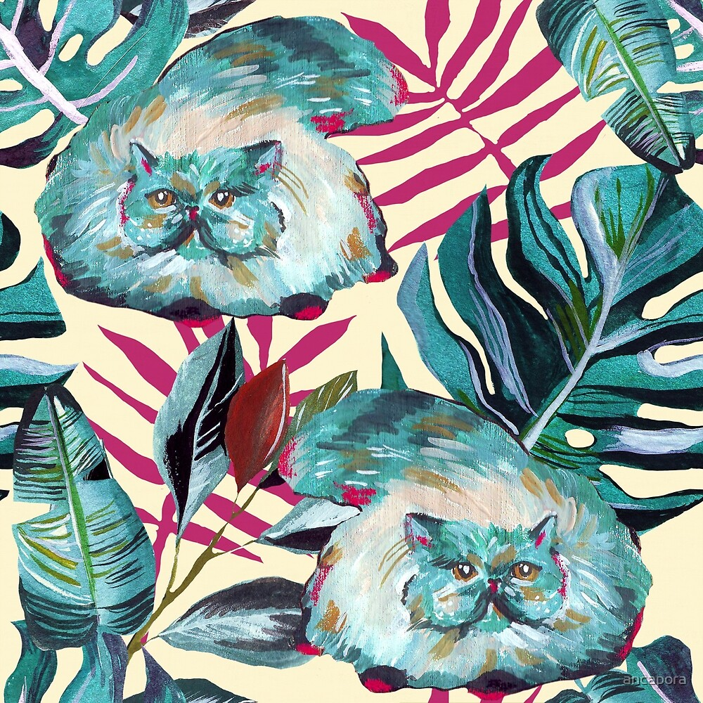 Tropical Cats by ancapora