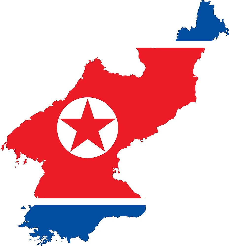 North Korea Continent Flag by PRODUCTPICS