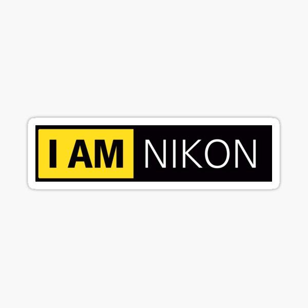 I am Nikon Sticker