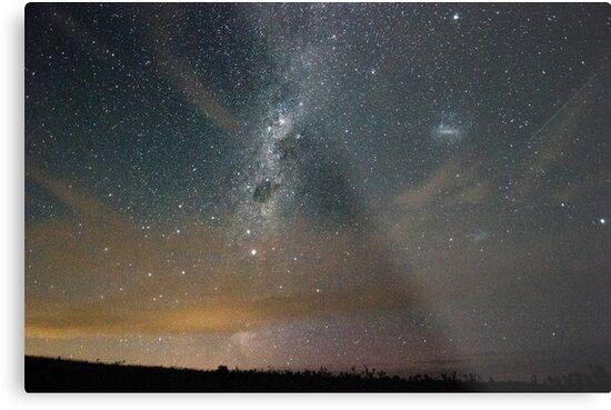 Meteor shower by Willscape
