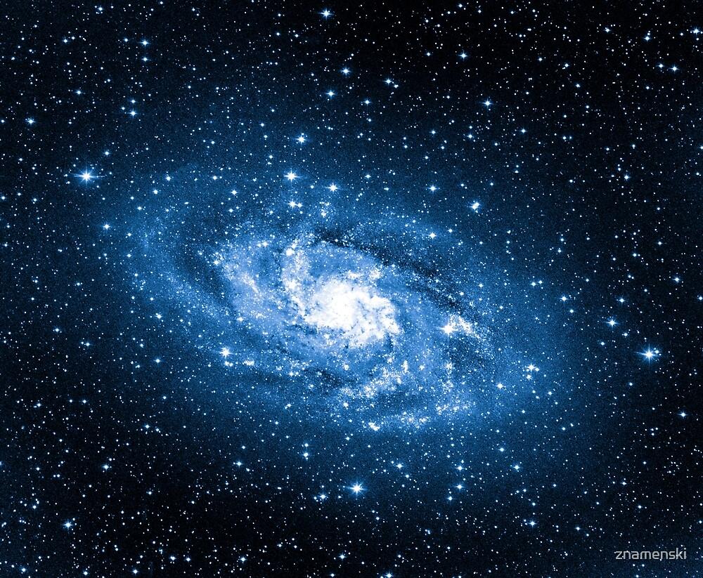 Milky Way, Nebula, Parallax, Moon, Sun, Mercury, Venus, Earth by znamenski