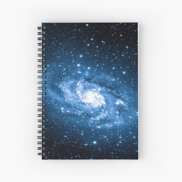Milky Way, Nebula, Parallax, Moon, Sun, Mercury, Venus, Earth Spiral Notebook