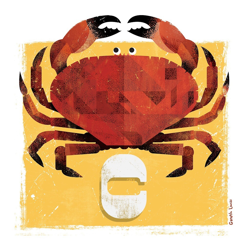 C for Crab by Gareth Lucas