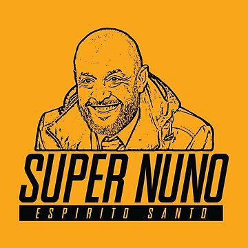 Super Nuno Espirito Santo (Logo and Picture) by PonchTheOwl