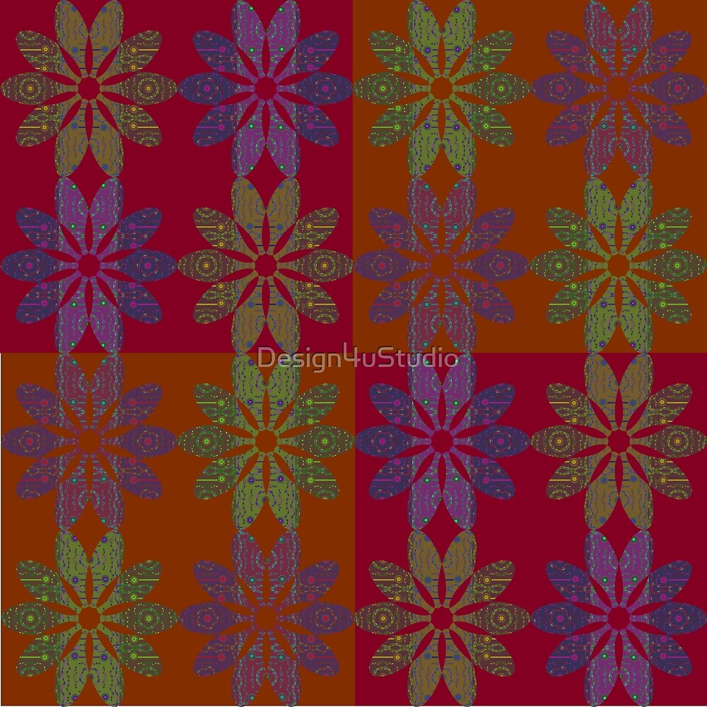 Flower Pattern5 by Design4uStudio