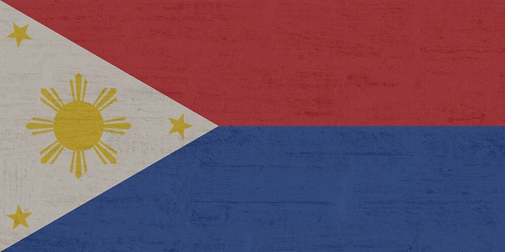 Philippines Stone Wall Flag by PRODUCTPICS