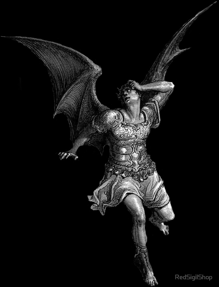 Satan Paradise Lost by RedSigilShop
