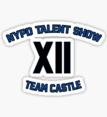 NYPD Talent Show Sticker