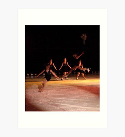 Split Jump Art Print