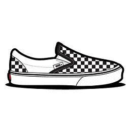 Vans - Checkered Slip On Shoe by The Rosebud Shop