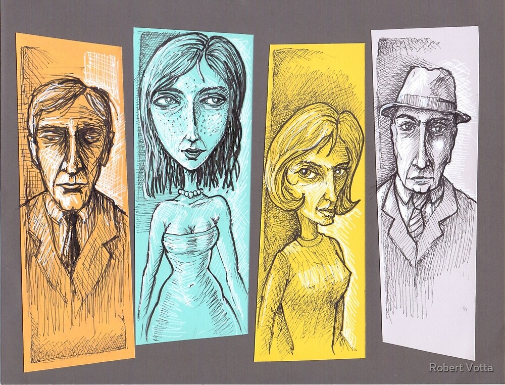 The Four Suspects by Robert Votta