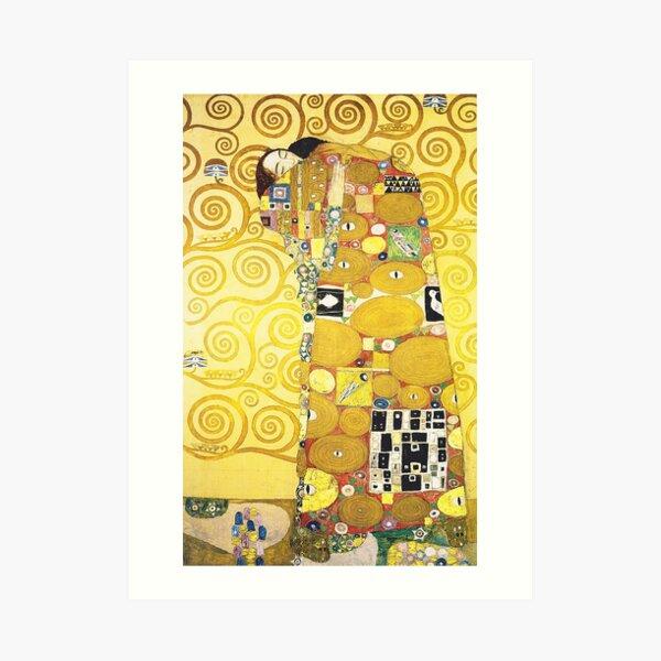 HD El árbol de la vida, (detalle) 1905 de Gustav Klimt - ALTA DEFINICIÓN Lámina artística
