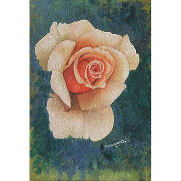 White Rose by artyzoneindia