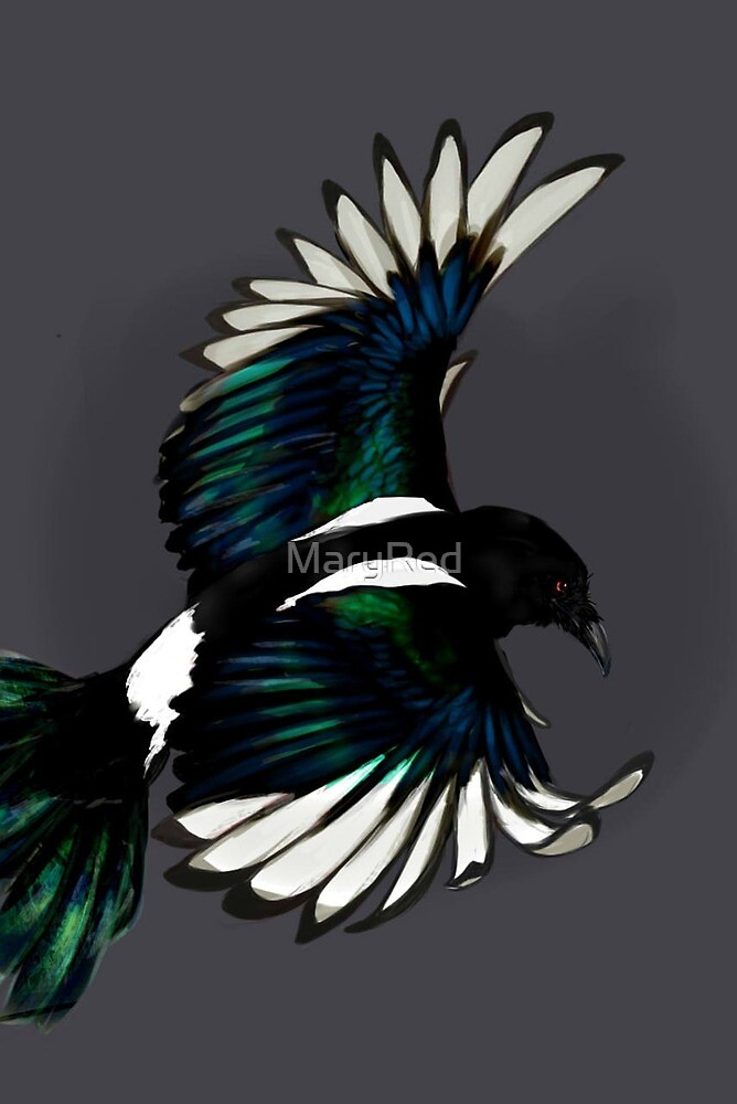 Magpie by MaryRed