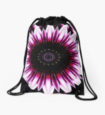 Daisy Manipulation Drawstring Bag