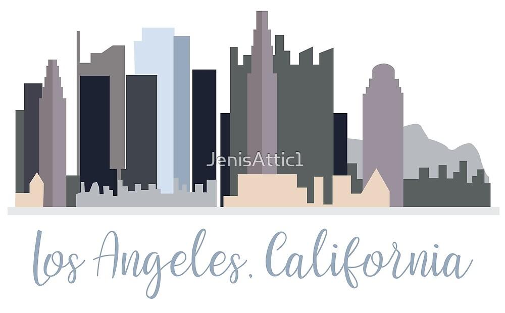 Los Angeles, California by JenisAttic1