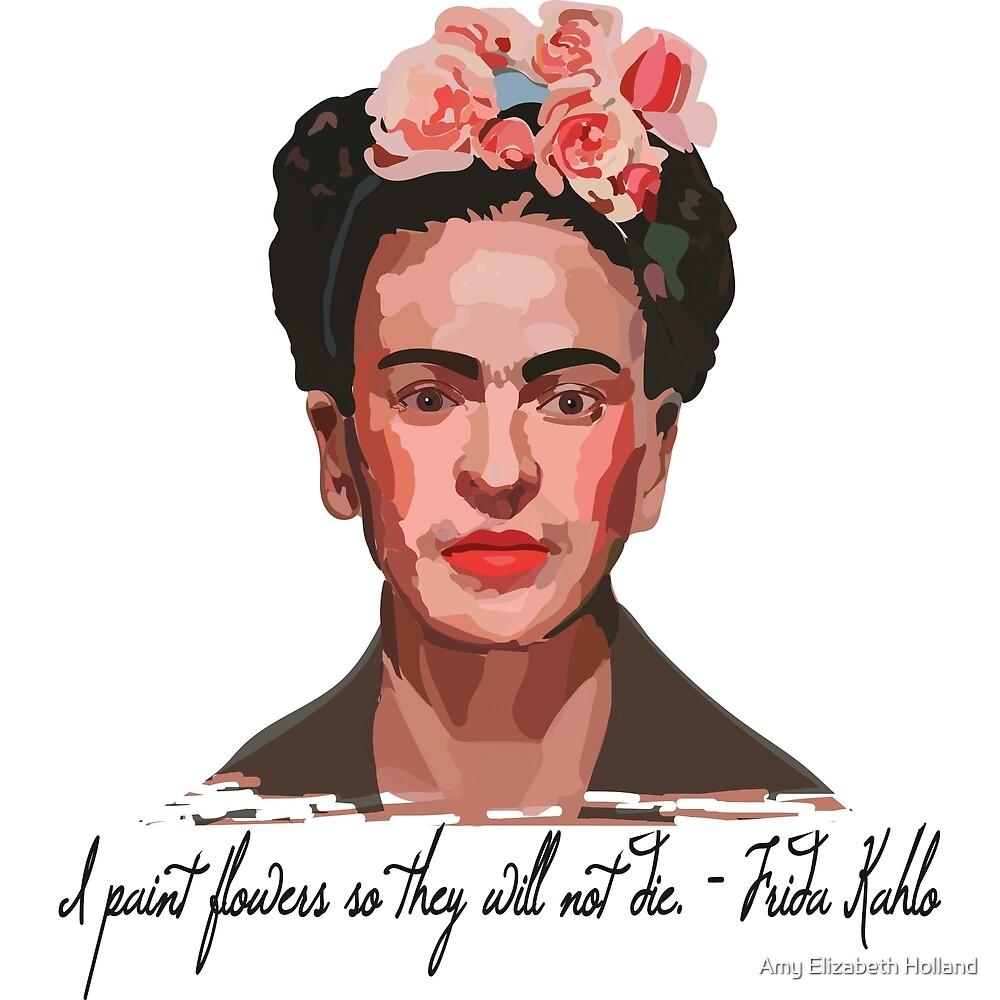 Frieda paints flowers by 8925designs